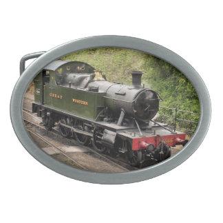 STEAM TRAINS UK BELT BUCKLES