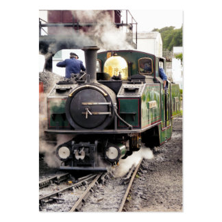 STEAM TRAINS UK BUSINESS CARDS