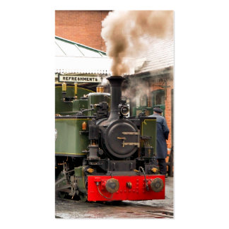 STEAM TRAINS UK BUSINESS CARD TEMPLATES