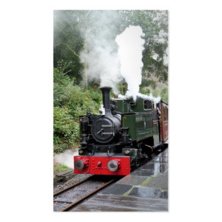 STEAM TRAINS UK BUSINESS CARD TEMPLATE