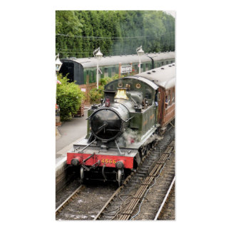 STEAM TRAINS UK BUSINESS CARD