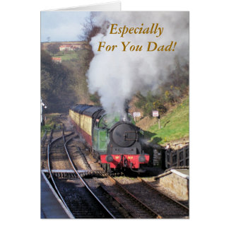STEAM TRAINS UK GREETING CARDS