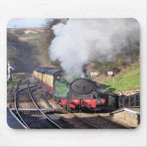 STEAM TRAINS UK MOUSE PAD