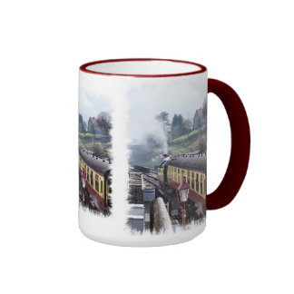STEAM TRAINS UK COFFEE MUG