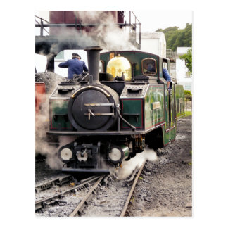 STEAM TRAINS UK POST CARD