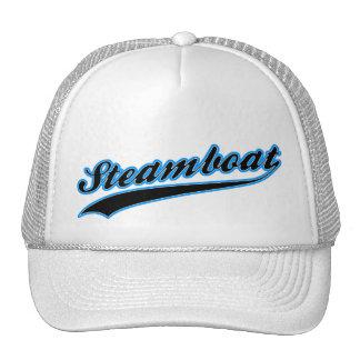 Steamboat Baseball Logo Hat
