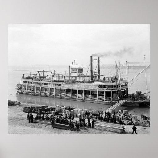 Steamboat Georgia Lee: 1907 Poster