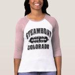 Steamboat Since 1884 Black Shirts