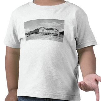 Steamboat Springs CO Lodge and Cabins Photograp T-shirt