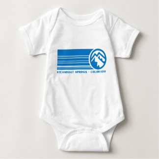Steamboat Springs Colorado Baby Bodysuit