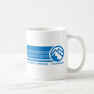 Steamboat Springs Colorado Basic White Mug