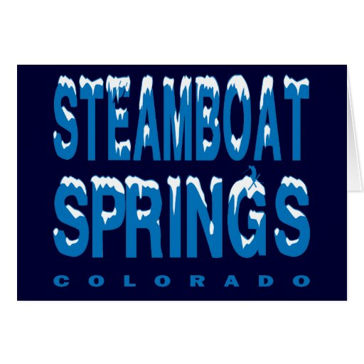 STEAMBOAT SPRINGS, COLORADO GREETING CARDS