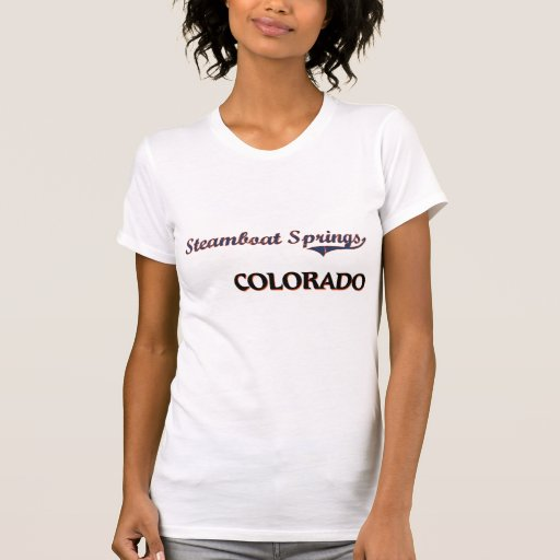 Steamboat Springs Colorado City Classic Shirt