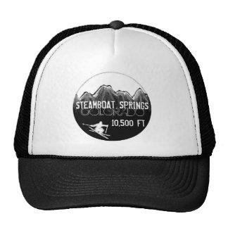 Steamboat Springs Colorado elevation ski hat