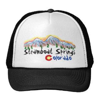Steamboat Springs Colorado hat