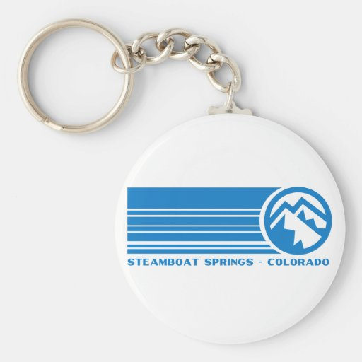 Steamboat Springs Colorado Key Chain