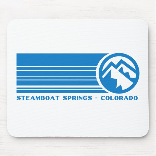 Steamboat Springs Colorado Mouse Pad