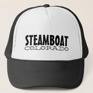 Steamboat Springs Colorado simple black hat