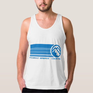 Steamboat Springs Colorado Tank Top