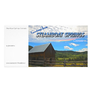 Steamboat Springs Colorado - Vintage Style Photo Cards