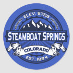 Steamboat Springs Colour Logo Sticker