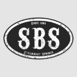 Steamboat Springs Oval Sticker