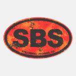 Steamboat Springs Oval Sticker