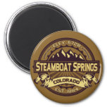 Steamboat Springs Sepia Fridge Magnet