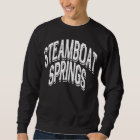 Steamboat Springs Shadow White Sweatshirt