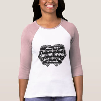 Steamboat Springs Since 1884 Ornate T Shirts