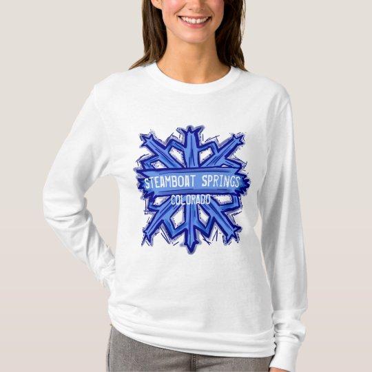 Steamboat Springs snowflake hoodie