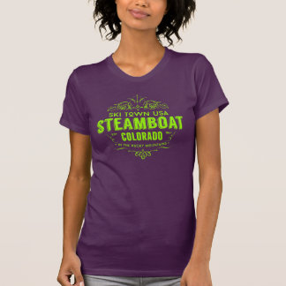 Steamboat Victorian Lime T-Shirt