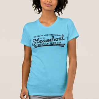 Steamboat Vintage Black Shirts