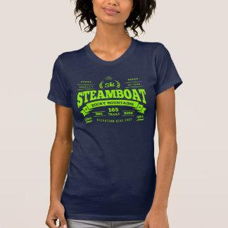 Steamboat Vintage Lime Tshirt