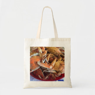 Steamed Crabs Tote Bag
