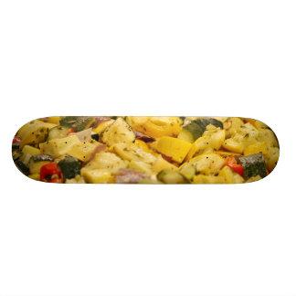 Steamed Vegetables Custom Skate Board