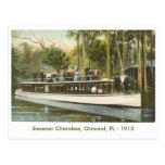 Steamer Cherokee, Ormond, FL - 1910 Postcard