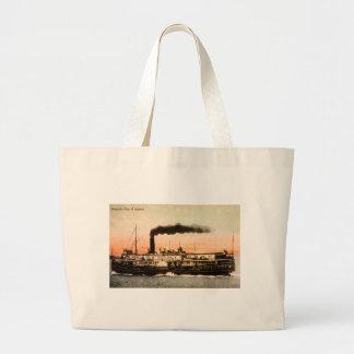 Steamer City of Alpena Canvas Bag