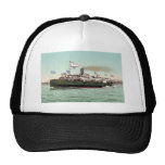 """Steamer """"City of Erie,"""" Cleveland and Buffalo Line Mesh Hats"""