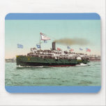 "Steamer ""City of Erie,"" Cleveland and Buffalo Line Mouse Pad"