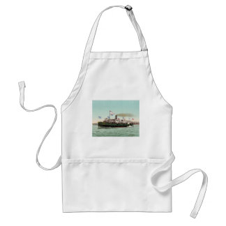 Steamer City of Erie Cleveland and Buffalo Line Standard Apron