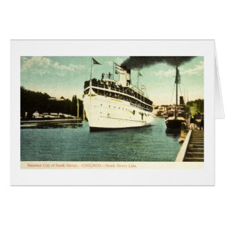 Steamer City of South Haven Great Lakes Greeting Card