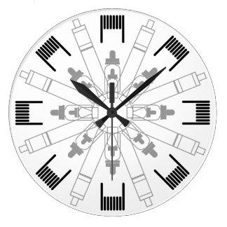 Steamer clock - Mandala
