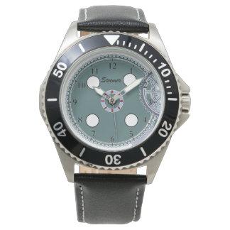 Steamer Clock Watch