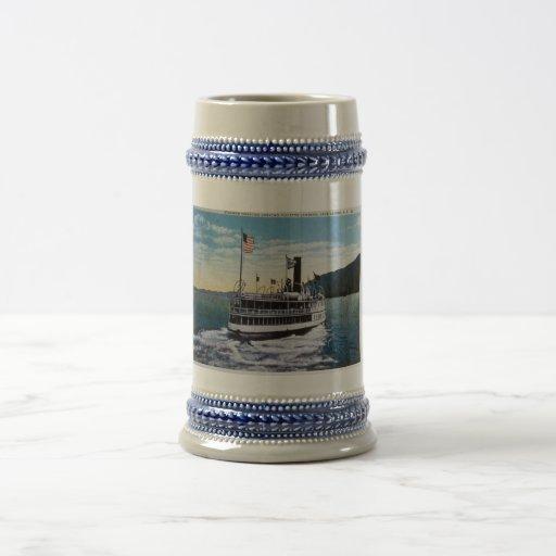 "Steamer ""Horicon"", Lake George, New York Beer Steins"