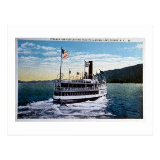 "Steamer ""Horicon"", Lake George, New York Postcard"
