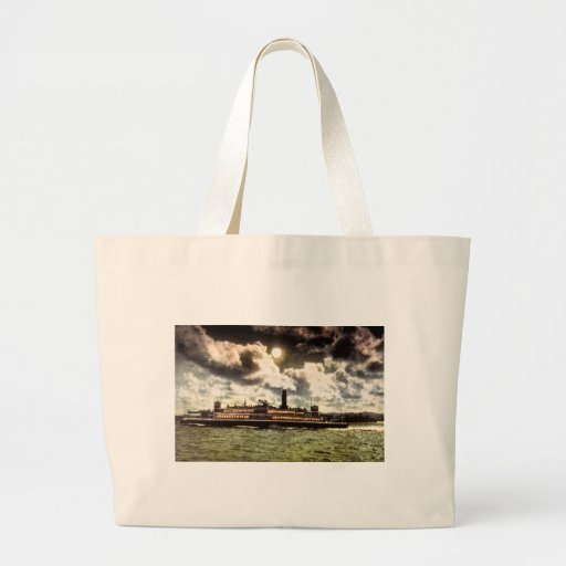 Steamer in San Francisco Bay Bags