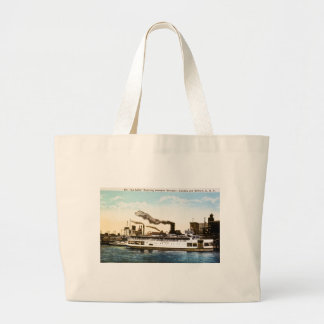 Steamer La Salle, Detroit River Canvas Bag