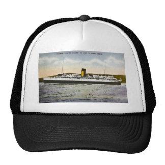 "Steamer ""Princess Helene"" St. John- Digby Service Mesh Hats"