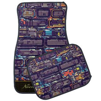 Steampunk 13 A-B Options Car Mat